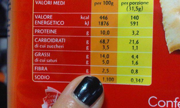 IL 75% DEI CONSUMATORI ITALIANI LEGGE LE ETICHETTE