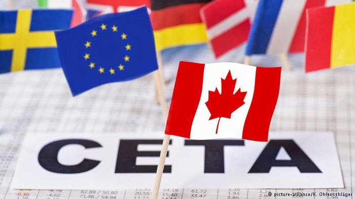 S'IMPENNA L'EXPORT AGROALIMENTARE VERSO IL CANADA