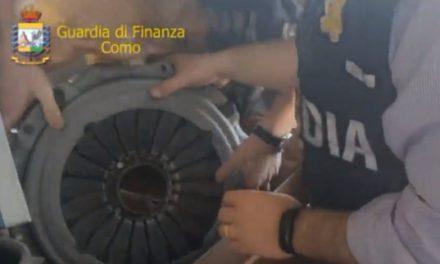 RICAMBI CINESI DIVENTAVANO 'ORIGINALI' NEL COMASCO
